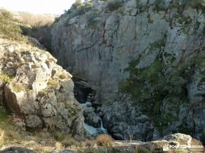Desfiladero de la Risca [Valdeprados]hacer mochilas valle del tietar mochilas de monte